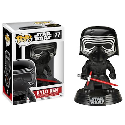 "Target Exclusive Star Wars The Force Awakens ""Unhooded"" Kylo Ren Pop! Vinyl Figure by Funko"