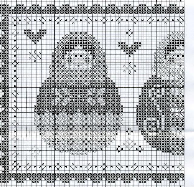 Tralala схемы вышивки 95