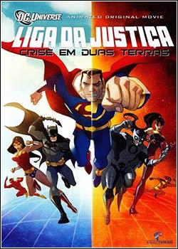 Download - Liga da Justiça - Crise nas Duas Terras DVDRip - AVI - Dual Áudio