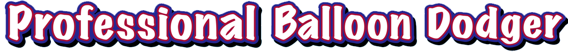 Professional Balloon Dodger programmer art logo.