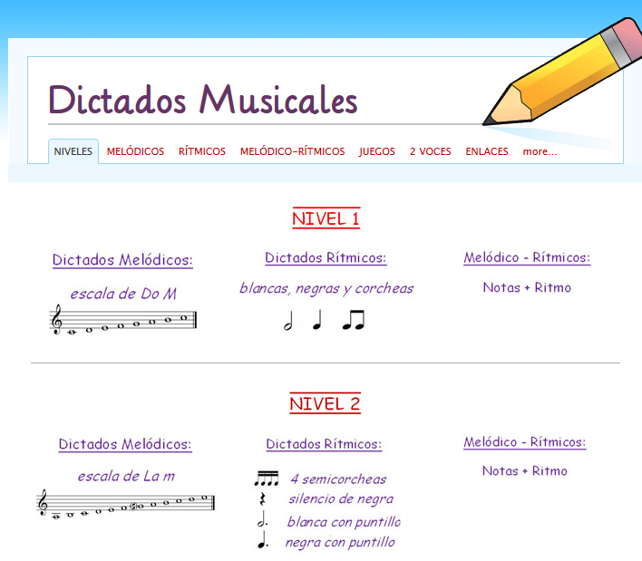 http://dictadosmusicales.weebly.com/