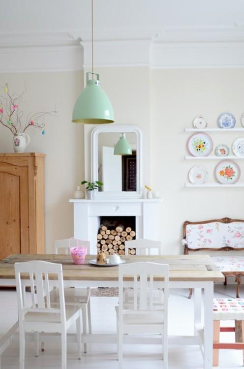 A Shabby Chic Mix Of Vintage & Modern Decor  I Heart. Houses With Basements Uk. Basement Wall Ideas. Water Sealer For Basement Walls. Rustoleum Basement Floor Paint