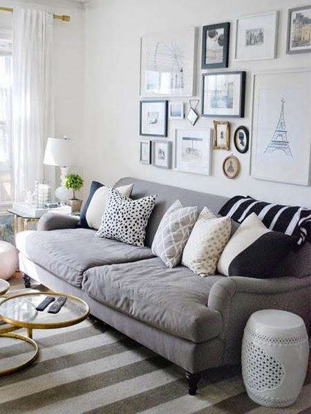 Sofa czterosobowa w salnie