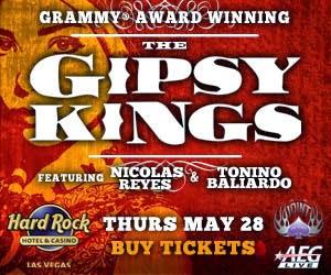 Gipsy Kings @TheHardRock-Vegas