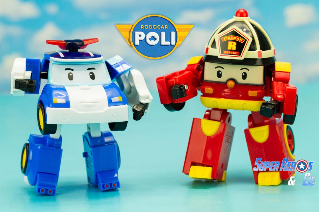 Super h ros et compagnie robocar poli poli et roy le pompier - Dessin anime de robocar poli en francais ...