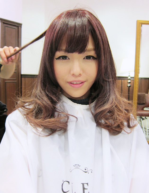 The Gallery For Gt Japanese Pink Brown Hair Color