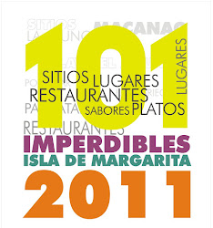 101 IMPERDIBLES DE MARGARITA 2011
