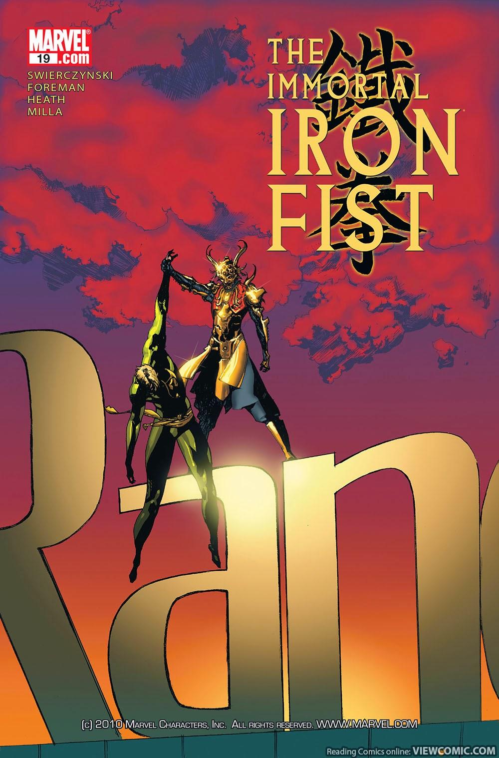 Iron fist comic