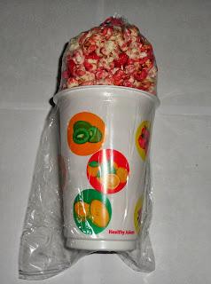 Harga 1 cup pop corn berapa