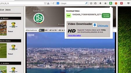 Download Cuplikan Pertandingan Piala Dunia 2014 di Internet