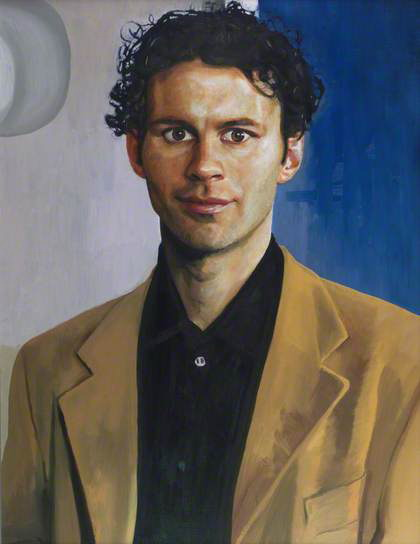 Ryan Giggs portrait to be placed in National Library of Wales