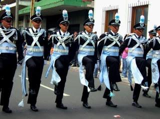 Grupo de gastadores del Instituto Rafael Landivar