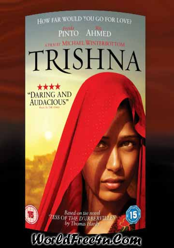 Poster Of Bollywood Movie Trishna (2011) 300MB Compressed Small Size Pc Movie Free Download worldfree4u.com