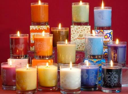 velas aromticas mikena