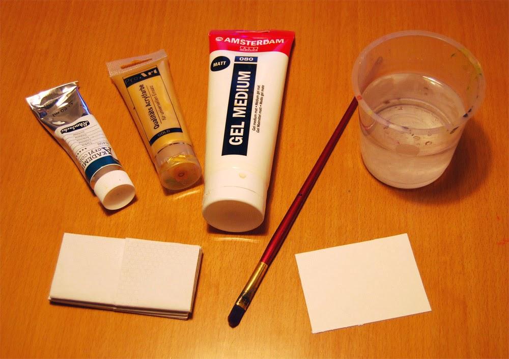 des schulterdrachens werke tutorial kartenhintergr nde mit taschent chern und acrylfarbe. Black Bedroom Furniture Sets. Home Design Ideas
