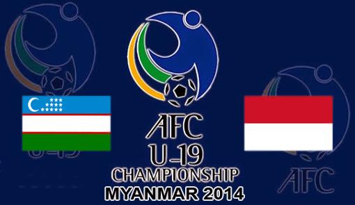 Uzbekistan U19 vs Indonesia U19 AFC Championship 2014 ...