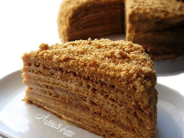 поваренок рецепт торта медовик