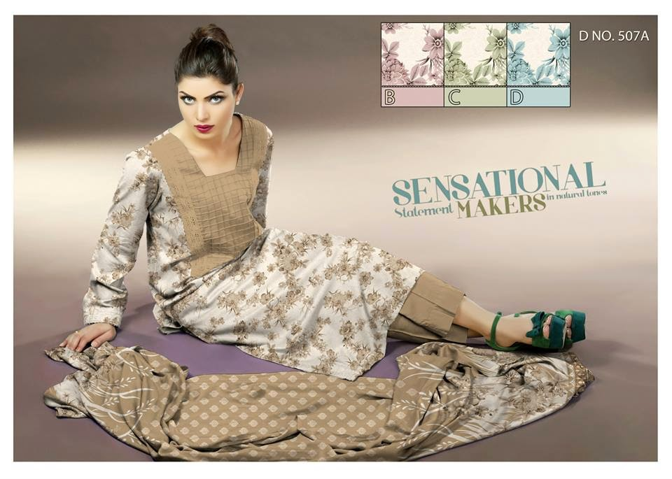 Summer Prints lawn collection 2015