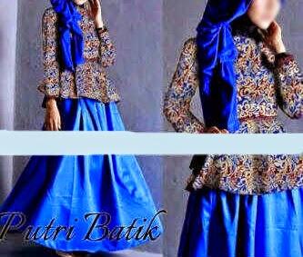 maxi dress batik 3 in 1