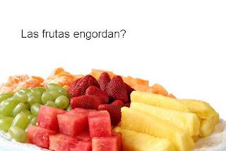 Las frutas engordan?