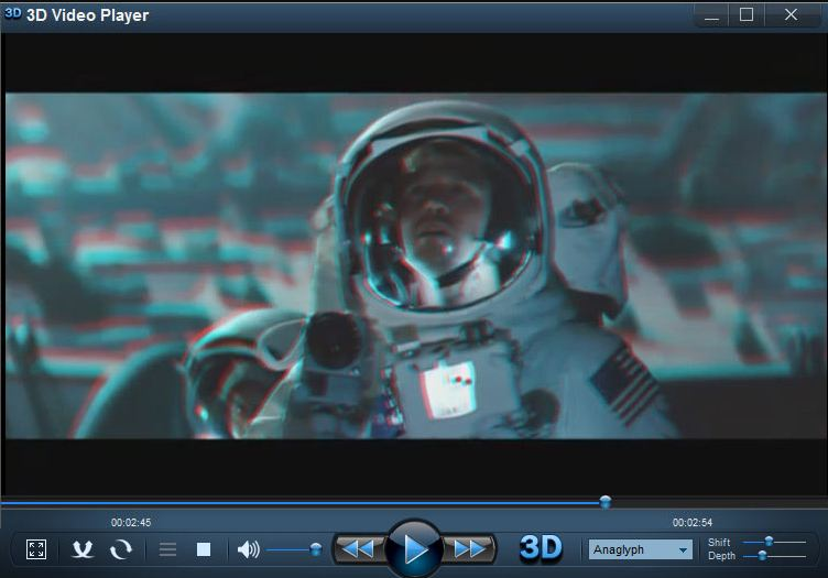 play 3d video