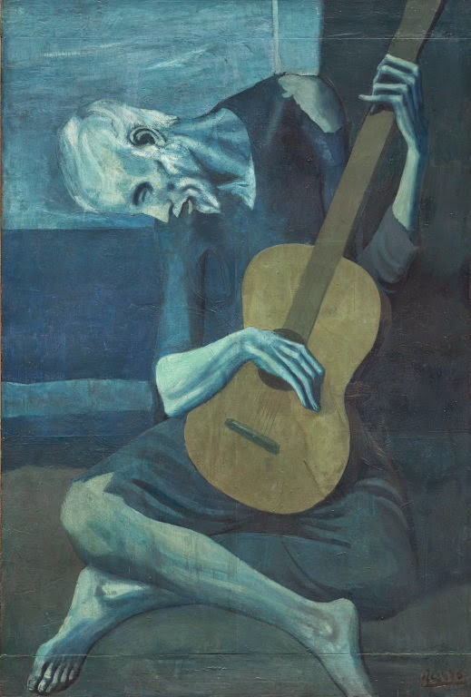 "Picasso's ""Old Guitarist"""