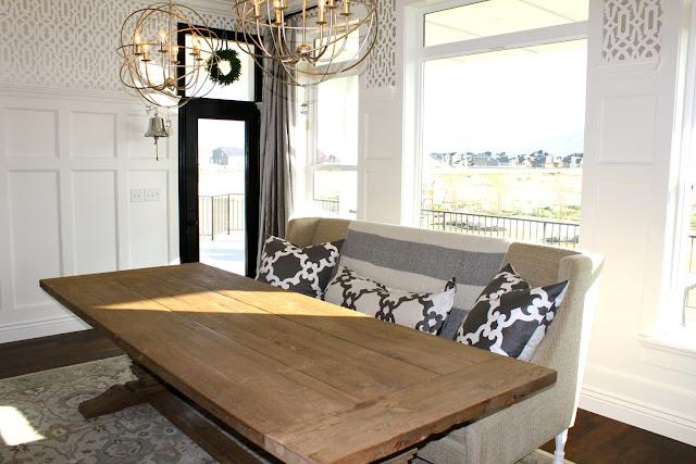 amy 39 s casablanca dining room settee