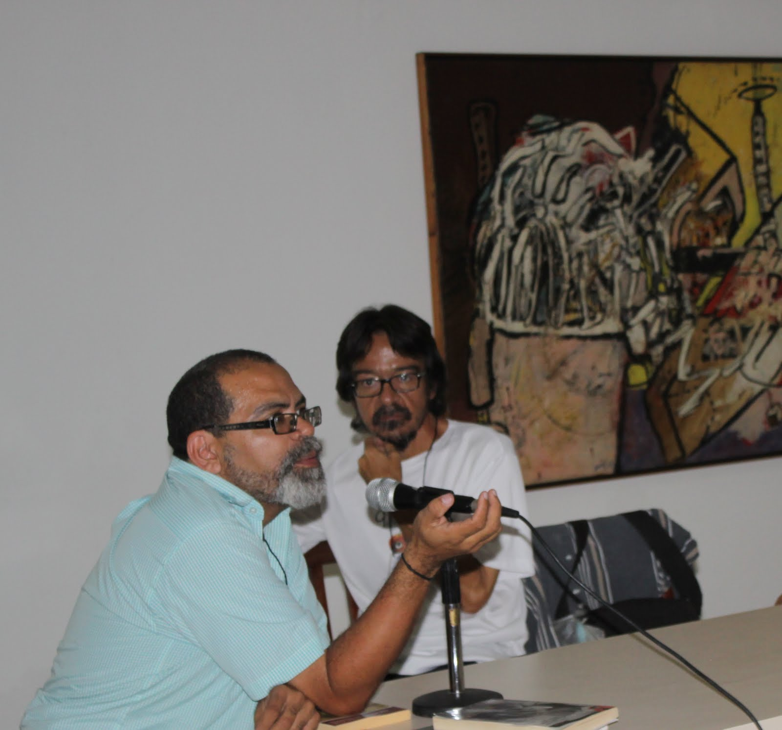 Foro Homenajes a Henrique Avril y Manuel Trujillo Durán