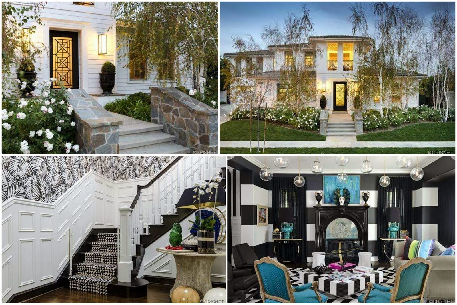 Celeb R E Kourtney Kardashian Lists Calabasas Home And Purchases Keyshawn Johnson 39 S Calabasas