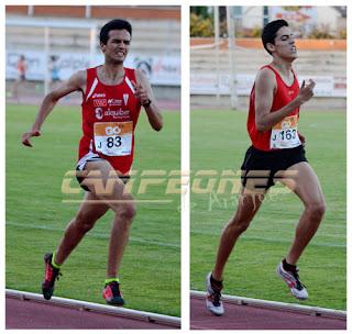Marathón Aranjuez Amín Houkmi y José Manuel Martínez.