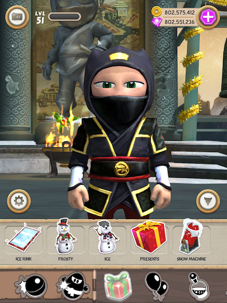 Clumsy Ninja Full Apk resimi 11