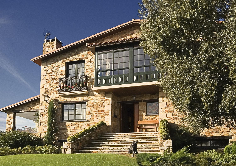 Construcciones r sticas gallegas peque os pazos - Casas de piedra gallegas ...