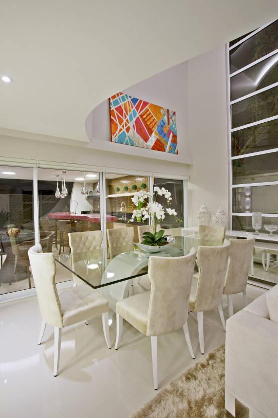 Sala De Estar Iara Kilaris ~  sala de jantar com cores neutras e sofisticada! Projeto designer de