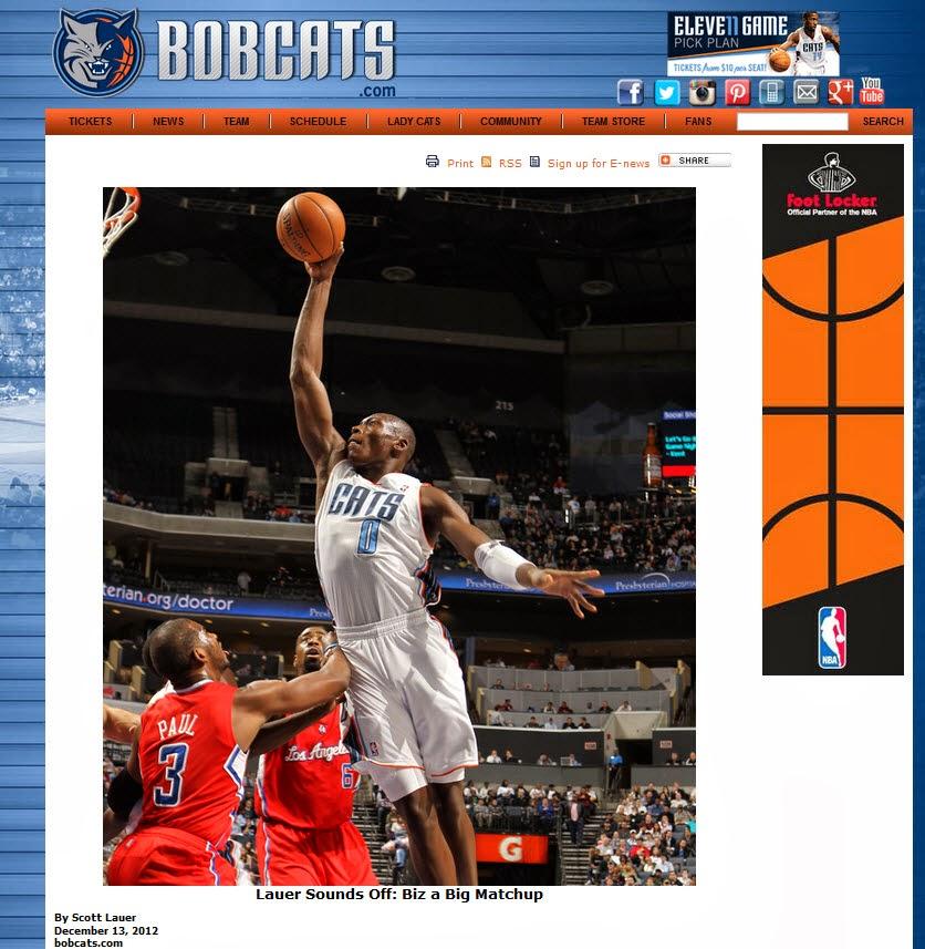 NBA BOBCATS