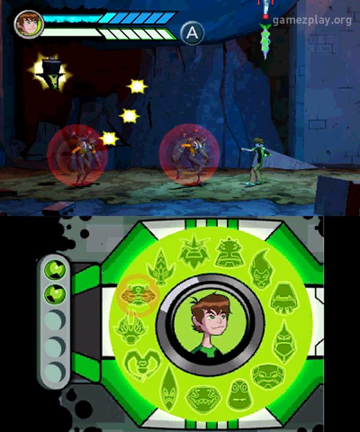 Ben 10: Omniverse screenshots - Nintendo 3DS and Wii