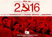 ¡Por un 2016 en que se fortalezcan las luchas obreras y populares!