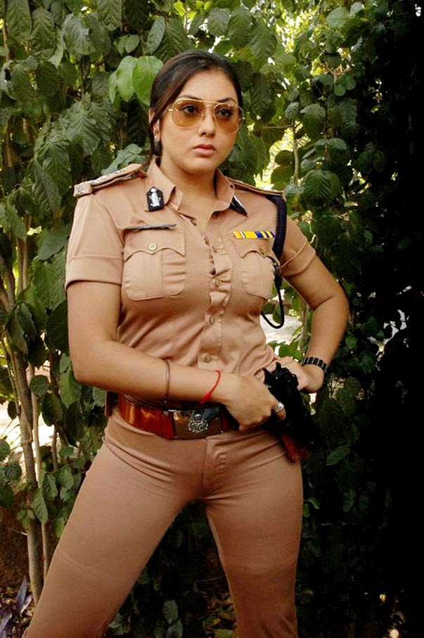 Namitha in Police Dress
