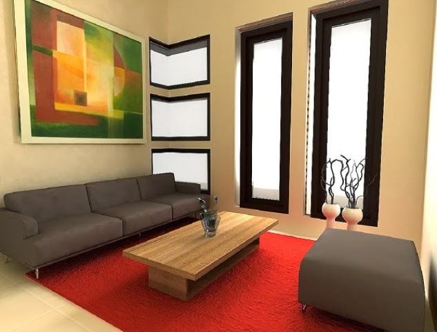 20 desain dan dekorasi ruang tamu minimalis modern 2018 for Simple interior design ideas for small living room