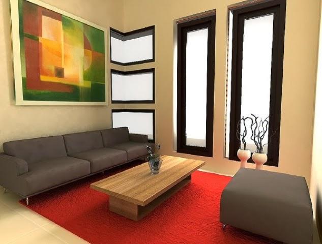 Desain Ruang Tamu Minimalis Modern
