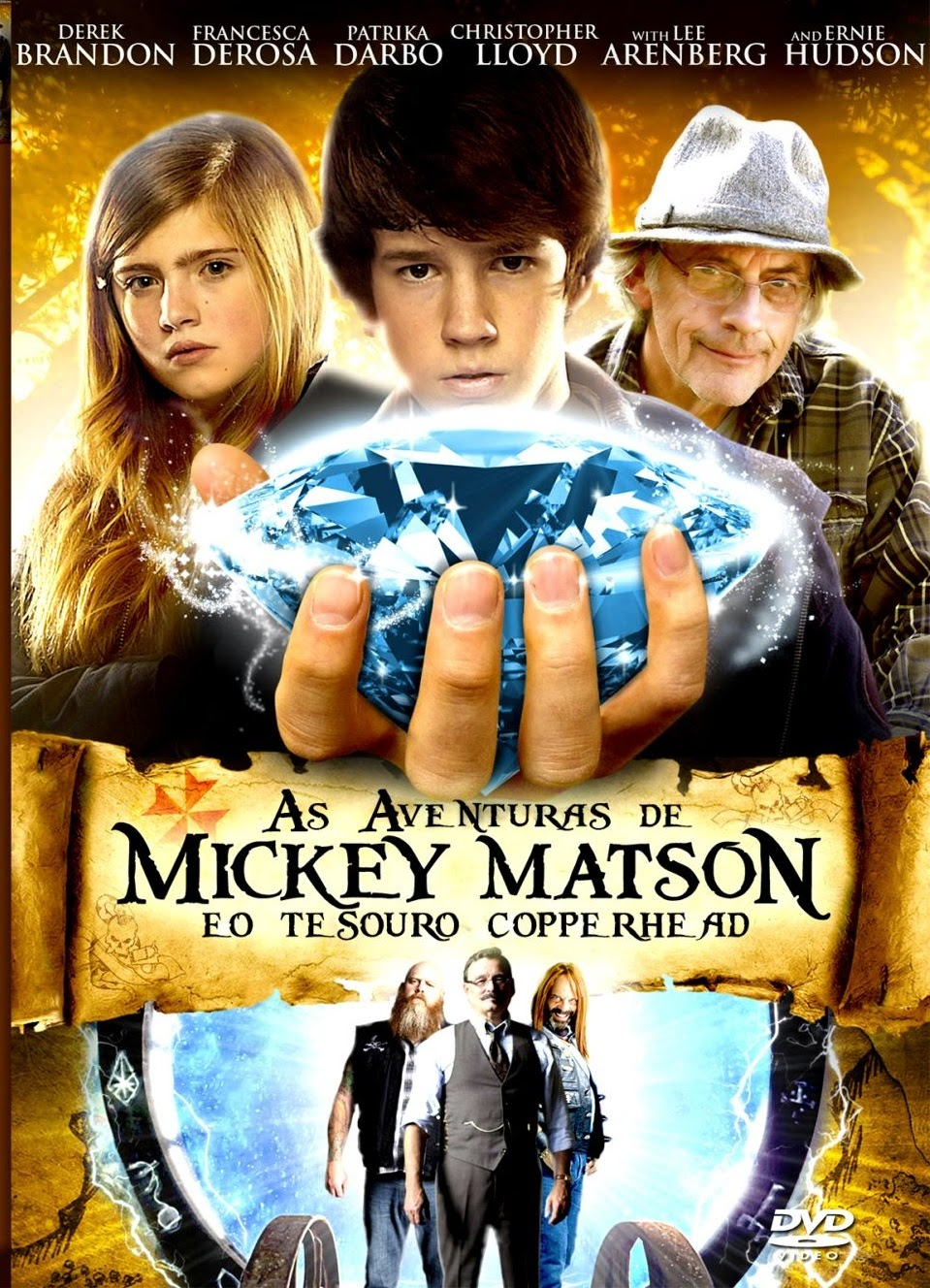 Download - As Aventuras De Mickey Matson e o Tesouro - Dual Áudio (2014)