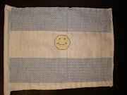 Bandera de Argentina, bordada dsc