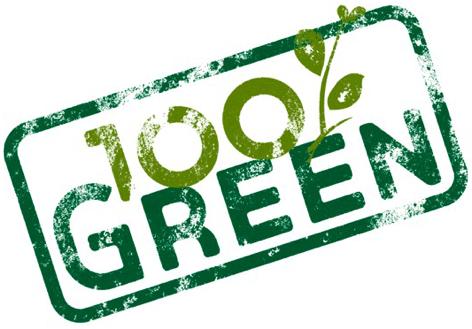 100 Green Logo final