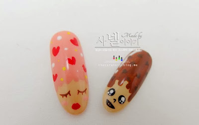 Pepero nail art