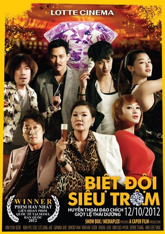 xem phim Những Tên Trộm Siêu Hạng - The Thieves (2012) full hd vietsub online poster