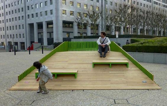 Arquitetura E Empreendedorismo Mobilirio Urbano Duna Por