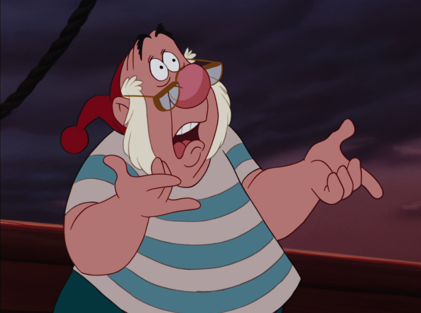 Uncategorized Smee Peter Pan disney daze peter pan the movie marmite man yes smee theres still more offensive things left to come in this movie