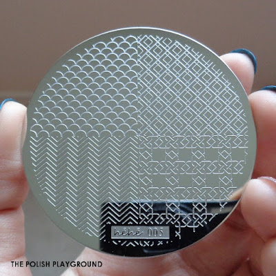 Lady Queen - Stamping Plate Hehe 005 Review