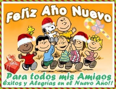 Hermosos postales para navidad y año nuevo