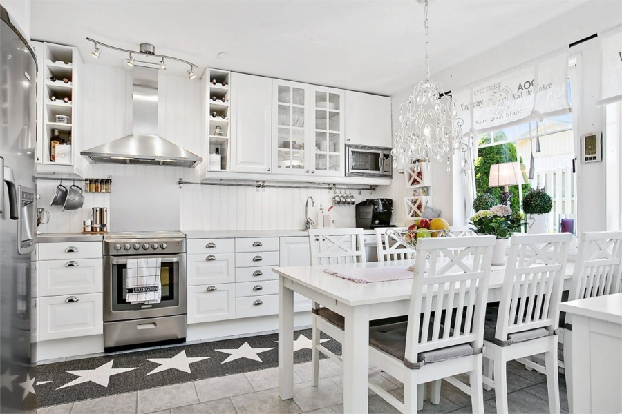 wystrój wnętrz, wnętrza, urządzanie mieszkania, dom, home decor, dekoracje, aranżacje, styl skandynawski, shabby chic, białe wnętrza, jasne wnętrza, kuchnia