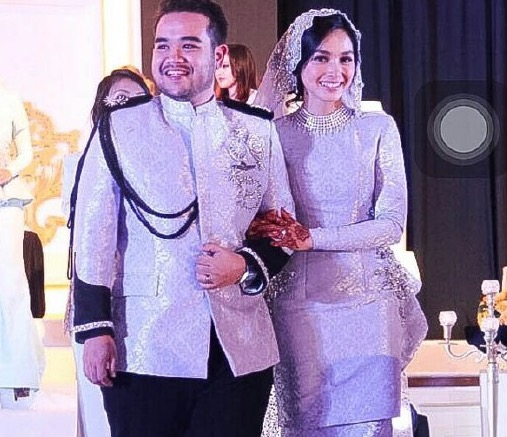 Asyraf Khalid, Anak tiri Siti Nurhaliza kahwini pelakon Indonesia Tya Ariffin